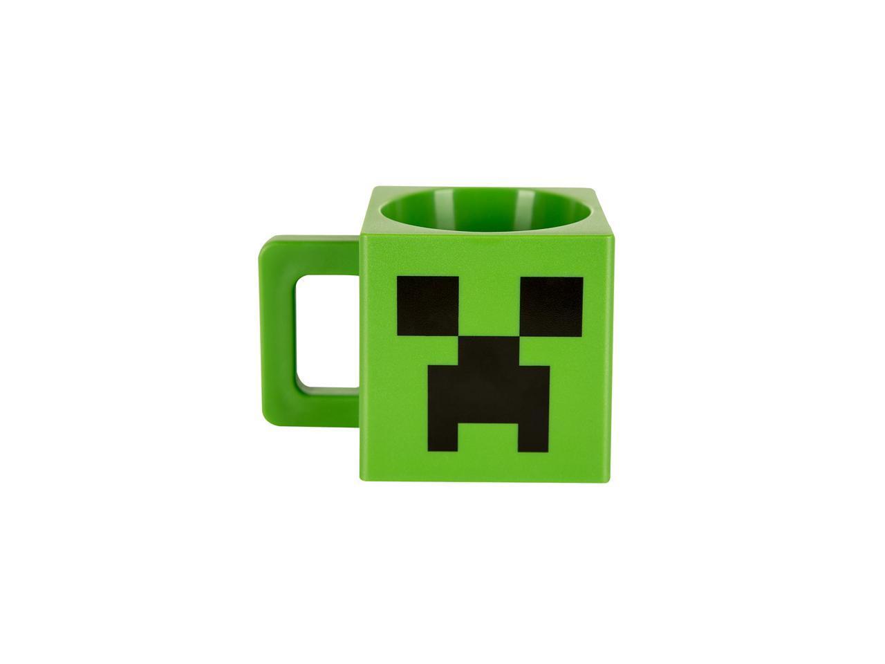 Minecraft Plastic Creeper Face Mug ...