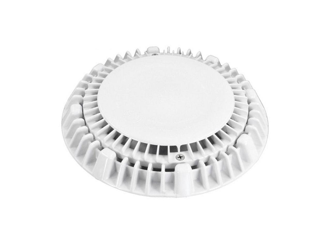 """White AquaStar 12MF101 12/"""" Square Mo Flow Suction Outlet Cover with Screws"""
