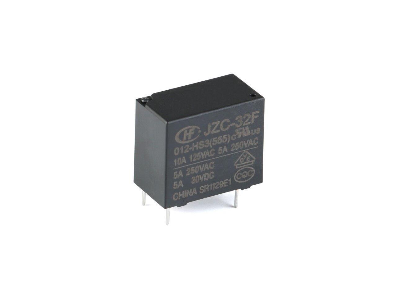 005 012 024-HS3 10A 4-Pins Hongfa MINI Power Relay 5V//12V//24V DC HF32F-JZC-32F
