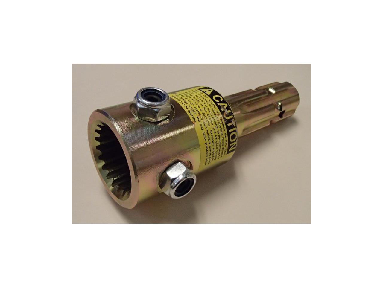 "03-32-00090 PTO Adaptor for Universal 1 3//4/"" 20 Spline to 1 3//8/"" 6 Spline"