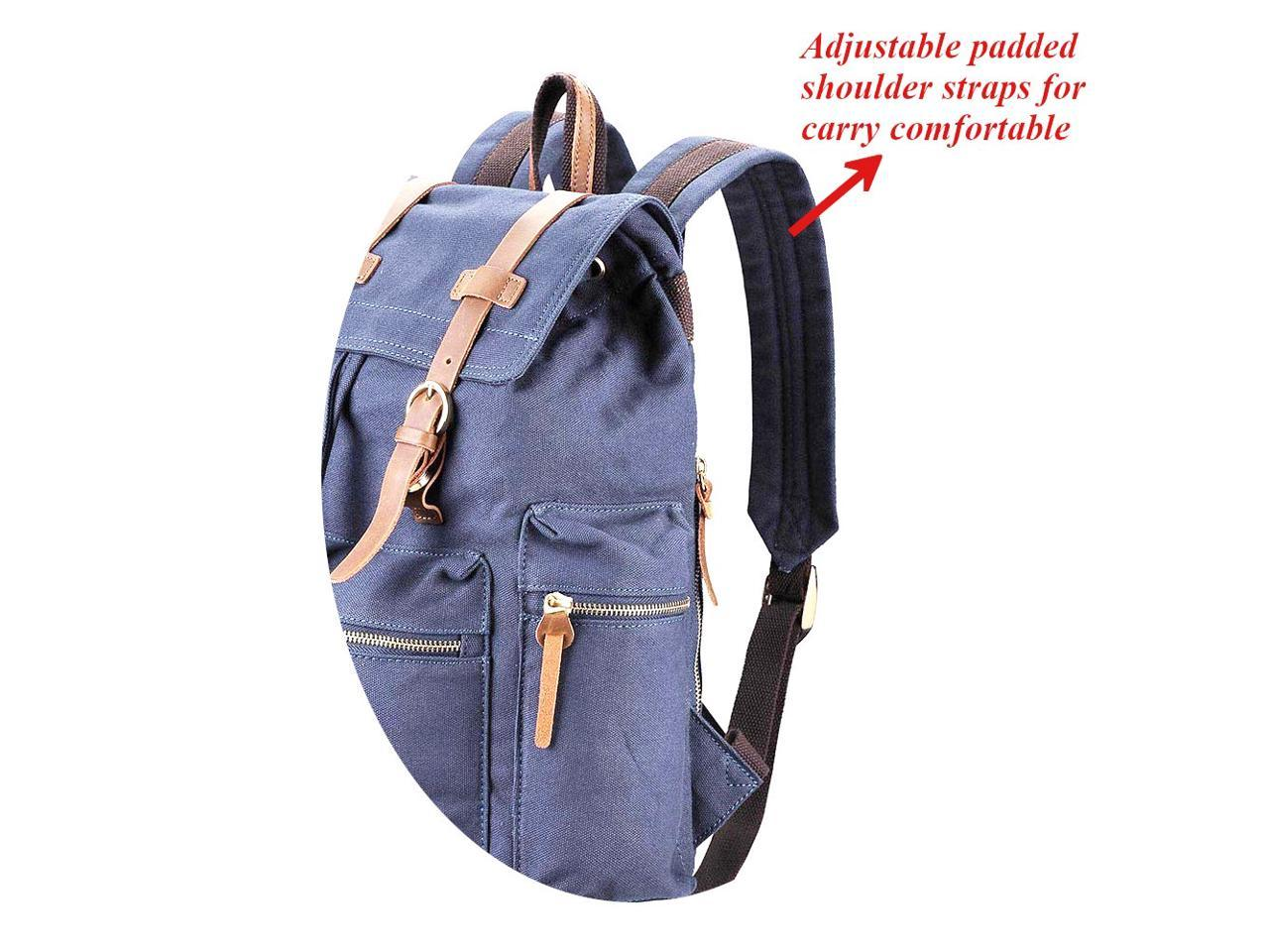Casual Backpack School Bag Gym Travel Hiking Canvas Backpack Laptop Computer Bag