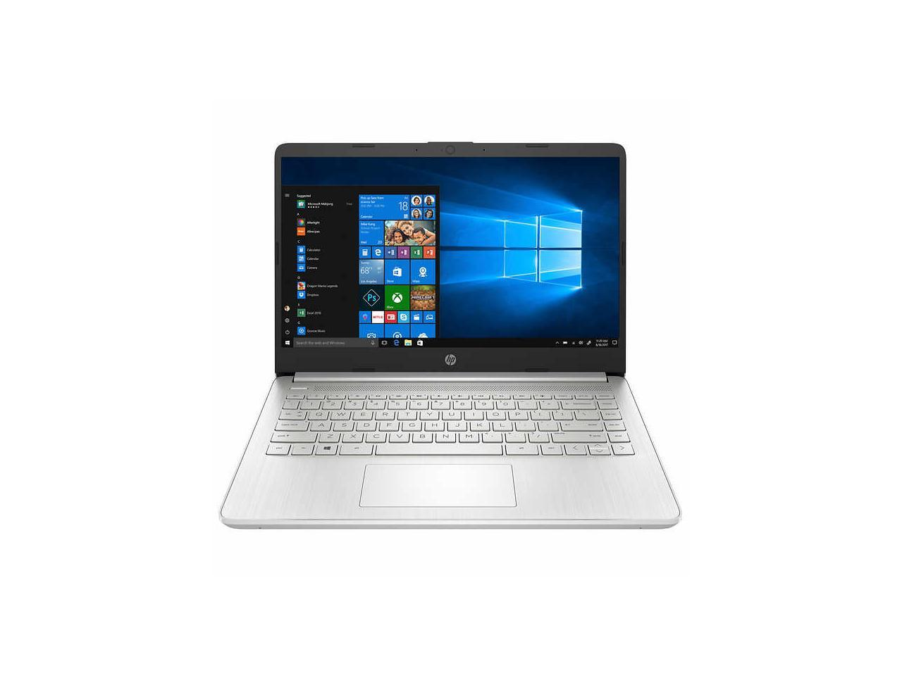 Hp 14 Laptop 10th Gen Intel Core I7 1065g7 1080p 14 Dq1055cl Notebook Pc Laptop 12gb Memory 512gb Ssd Newegg Com
