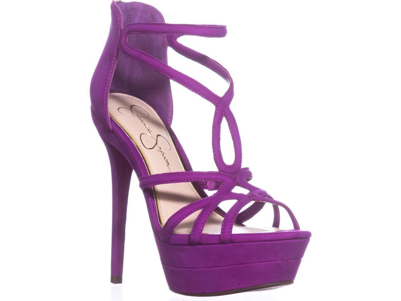 Jessica Simpson Rozmari Rozmari Rozmari Platform Evening Sandals, Vivid Orchid, 5.5 US 07eee0