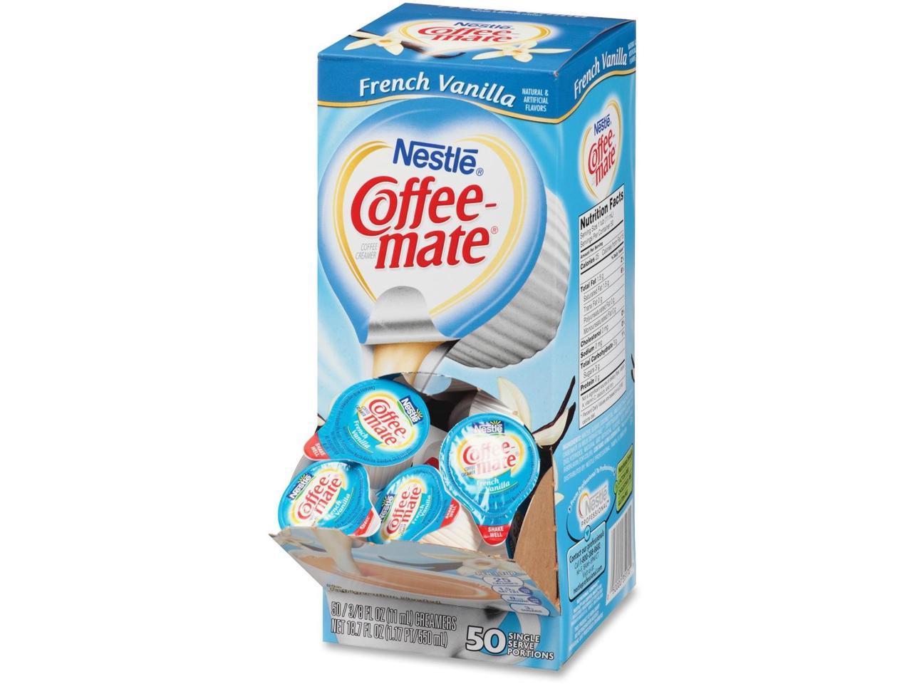 Nestle Coffee Mate French Vanilla Liquid Coffee Creamer Singles Newegg Com