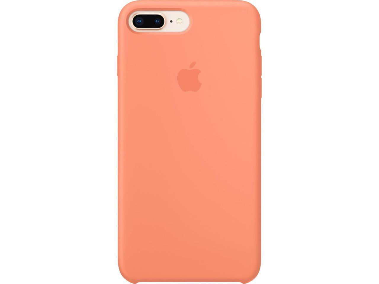 Apple iPhone 8 Plus / 7 Plus Silicone Case - Peach - Newegg.com