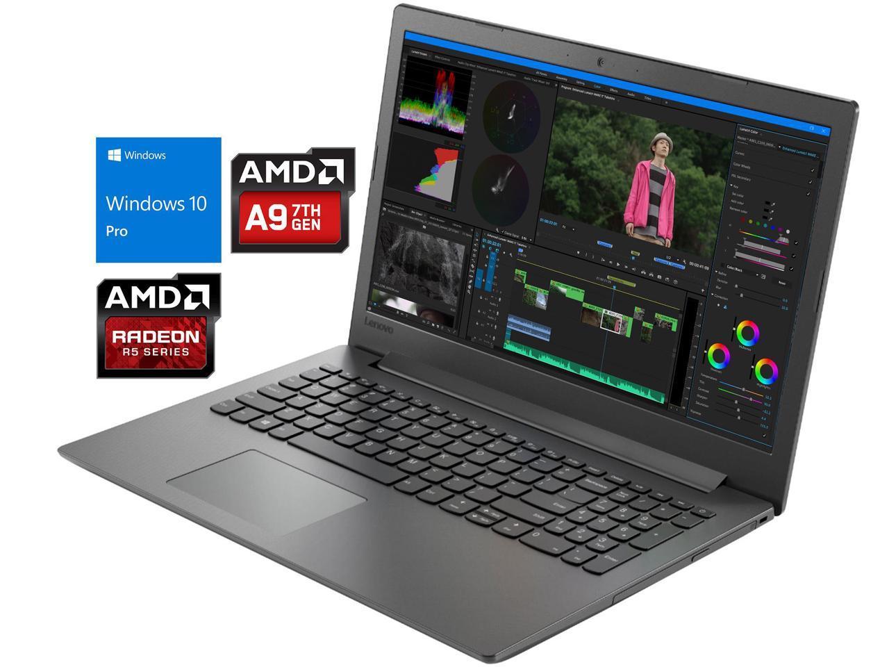 Lenovo Ideapad 130 Laptop 15 6 Hd Display Amd A9 9425 Upto 3 70ghz 4gb Ram 256gb Ssd Dvdrw Hdmi Card Reader Wi Fi Bluetooth Windows 10 Pro Newegg Com