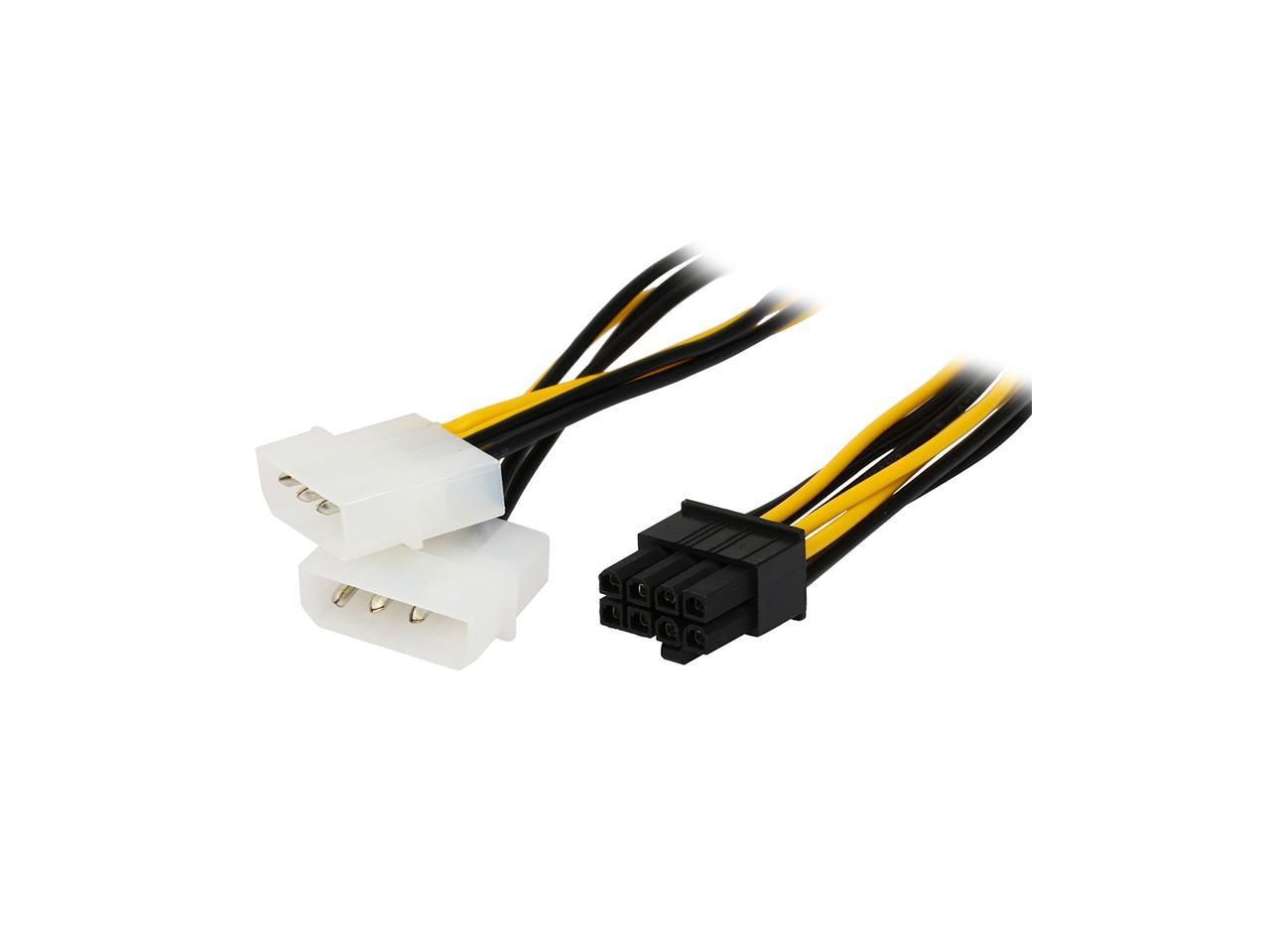 Graphics Card PWM 4pin to 2X 4pin Connector Extension Power Cable for GPU VGA Video Card Fan