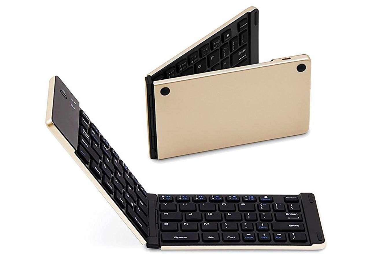 Wireless Keyboard Lightweight and Quiet Keyboard Easy to Use Receiver Portable Keyboard Triple Pad Longer Battery Life Suitable for Laptops