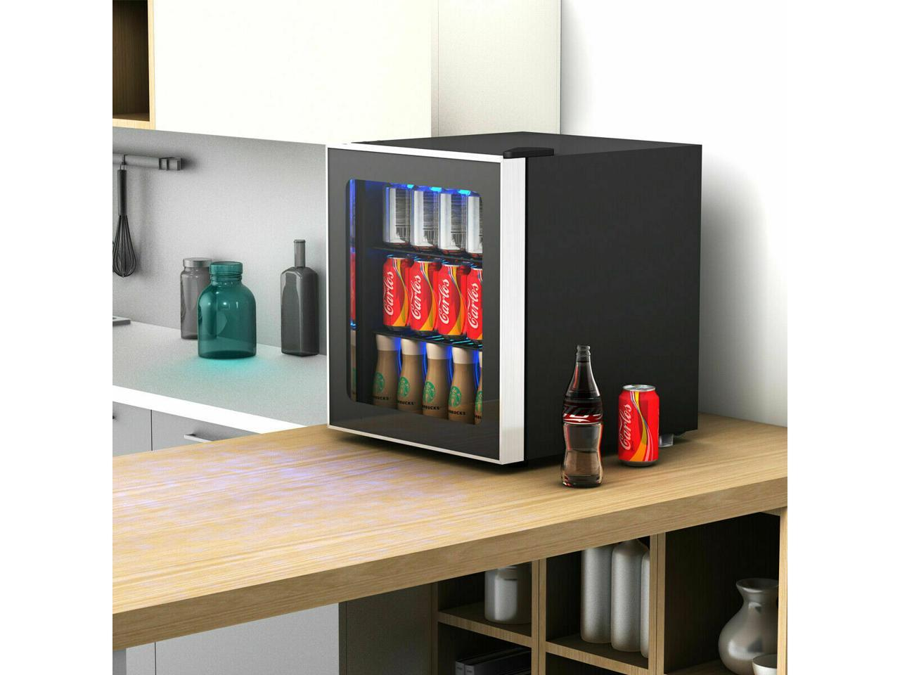 Portable Refrigeration Rapid Cup Cooler Wine Beverage Electronic Bottle Chiller Desktop Fast Cooling Fridge Single Bottle Drink Smart Touch Control Heating and cooling 2 in 1