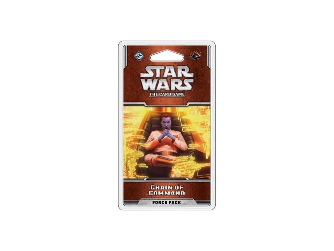 Star Wars LCG General Games//Puzzles General Games /& Activities Chain of Command Fantasy Flight Publishing SWC20 Card Games Card Games