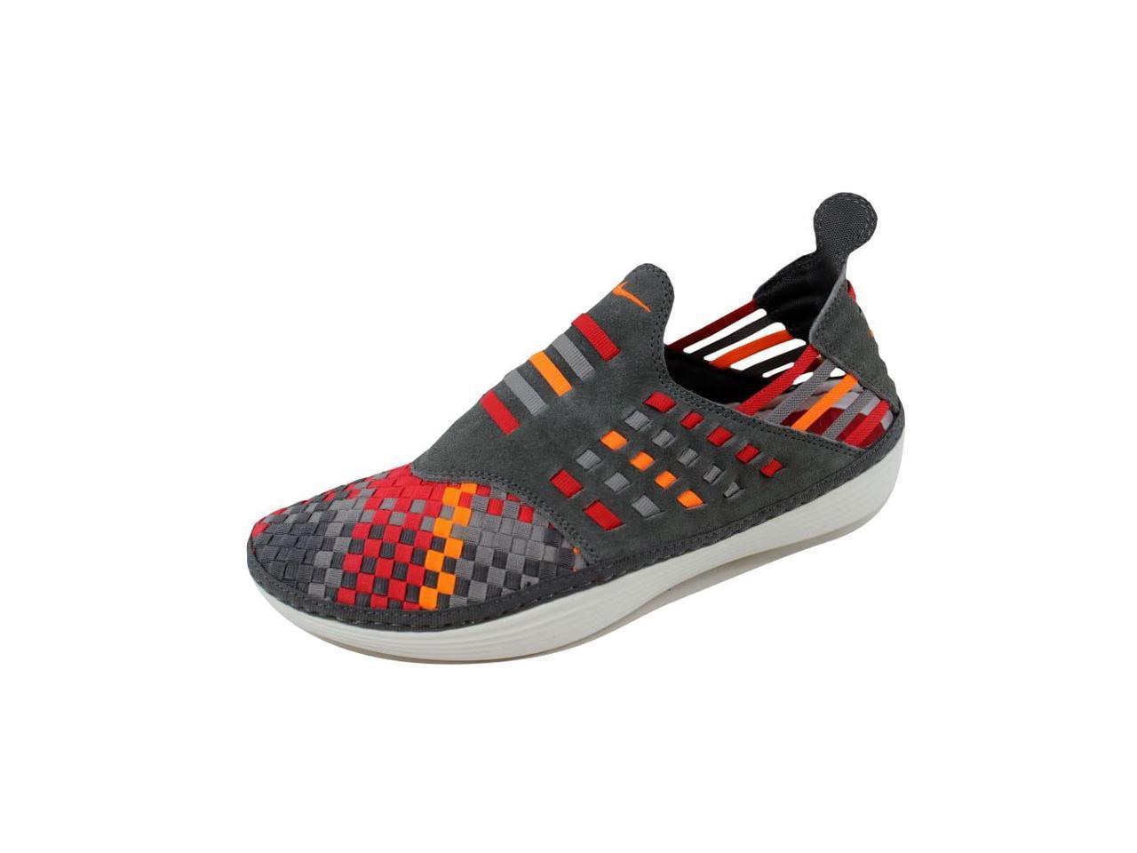 Nike Men's Solarsoft Rache Woven Premium Midnight Fog/Total 8 Orange-Sport Grey 555349-080 Size 8 Fog/Total f1d56f