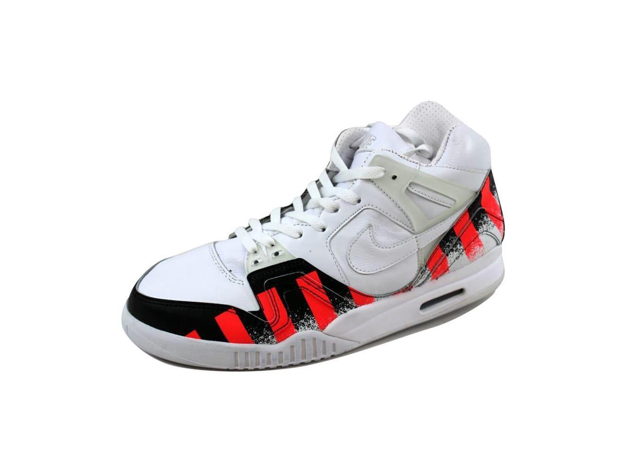 Nike Men's 2 Air Tech Challenge II 2 Men's SP White/White-Laser Crimson 621358-116 Size 9 59f26c