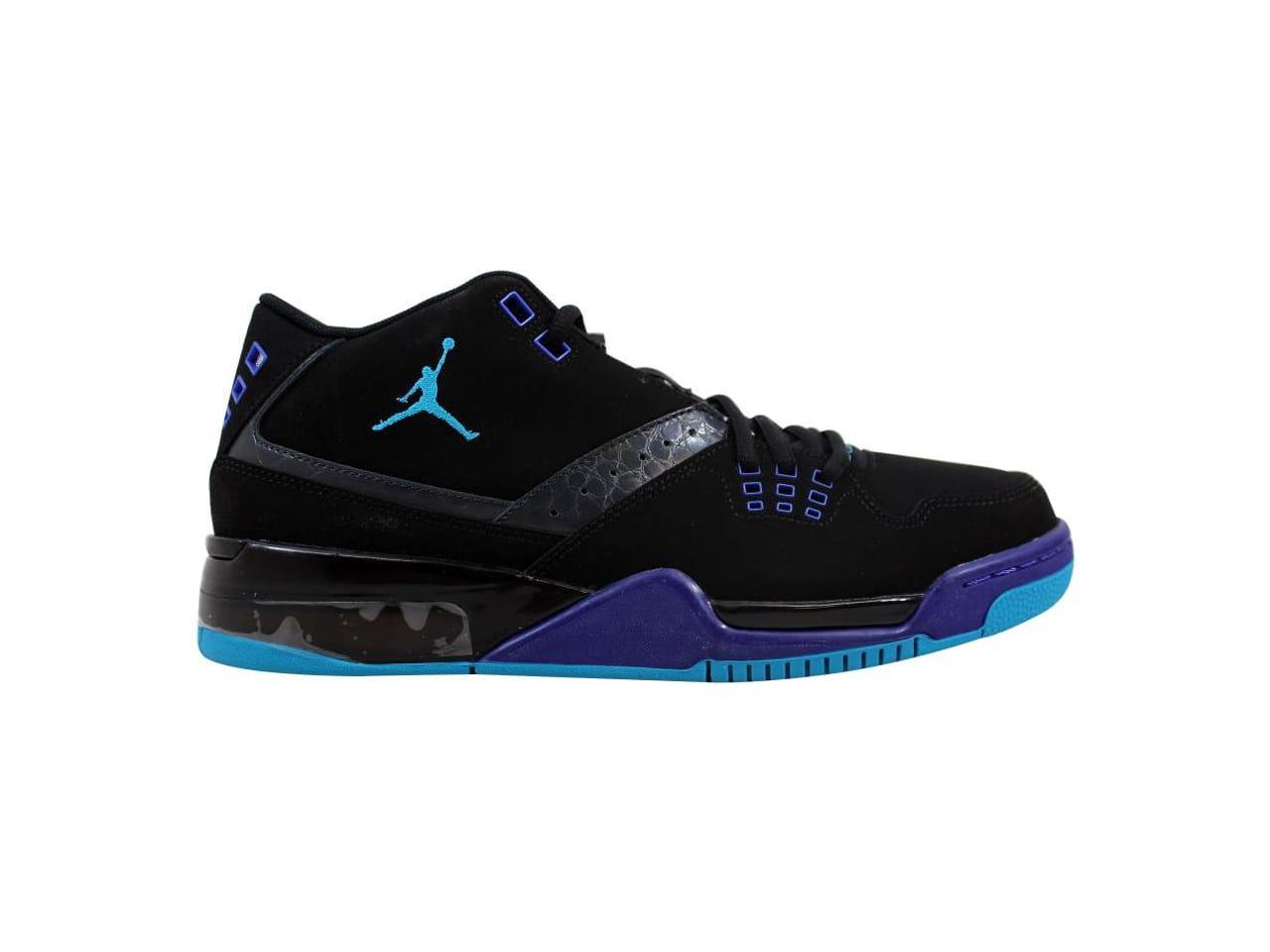 Nike Men's Air Jordan Flight 317820-013 23 Black/Blue Lagoon-Anthracite-Bright Concord 317820-013 Flight Size 10 5395ea