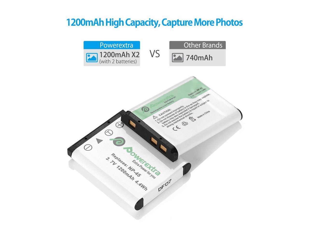 Li-ion 740mAh 3.7V Battery for Fujifilm FinePix JZ500