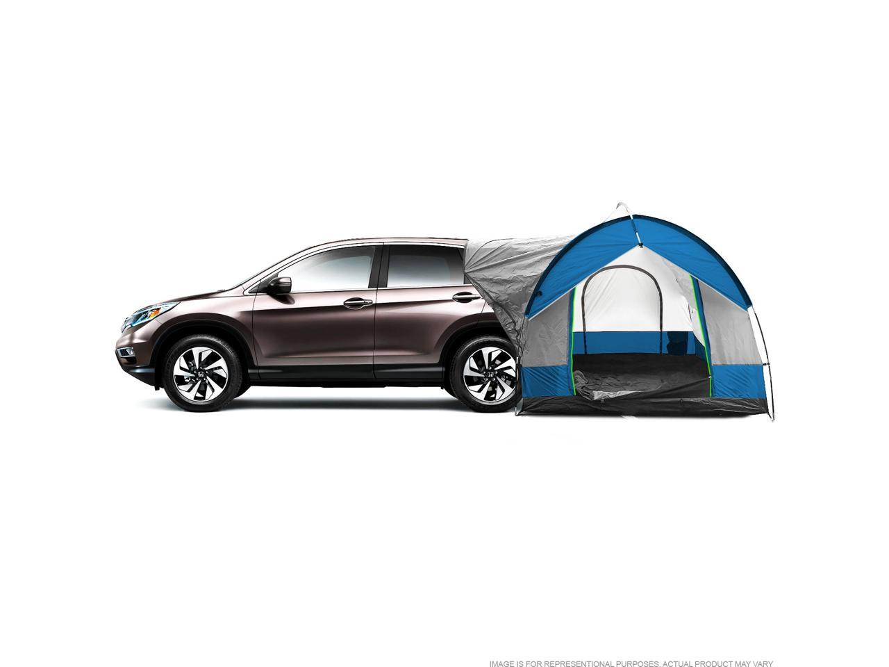 Universal Suv Camping Tent Up To 8 Person Sleeping Capacity Includes Rainfly And Storage Bag 8 W X 8 L X 7 2 H Gray And Blue Newegg Com
