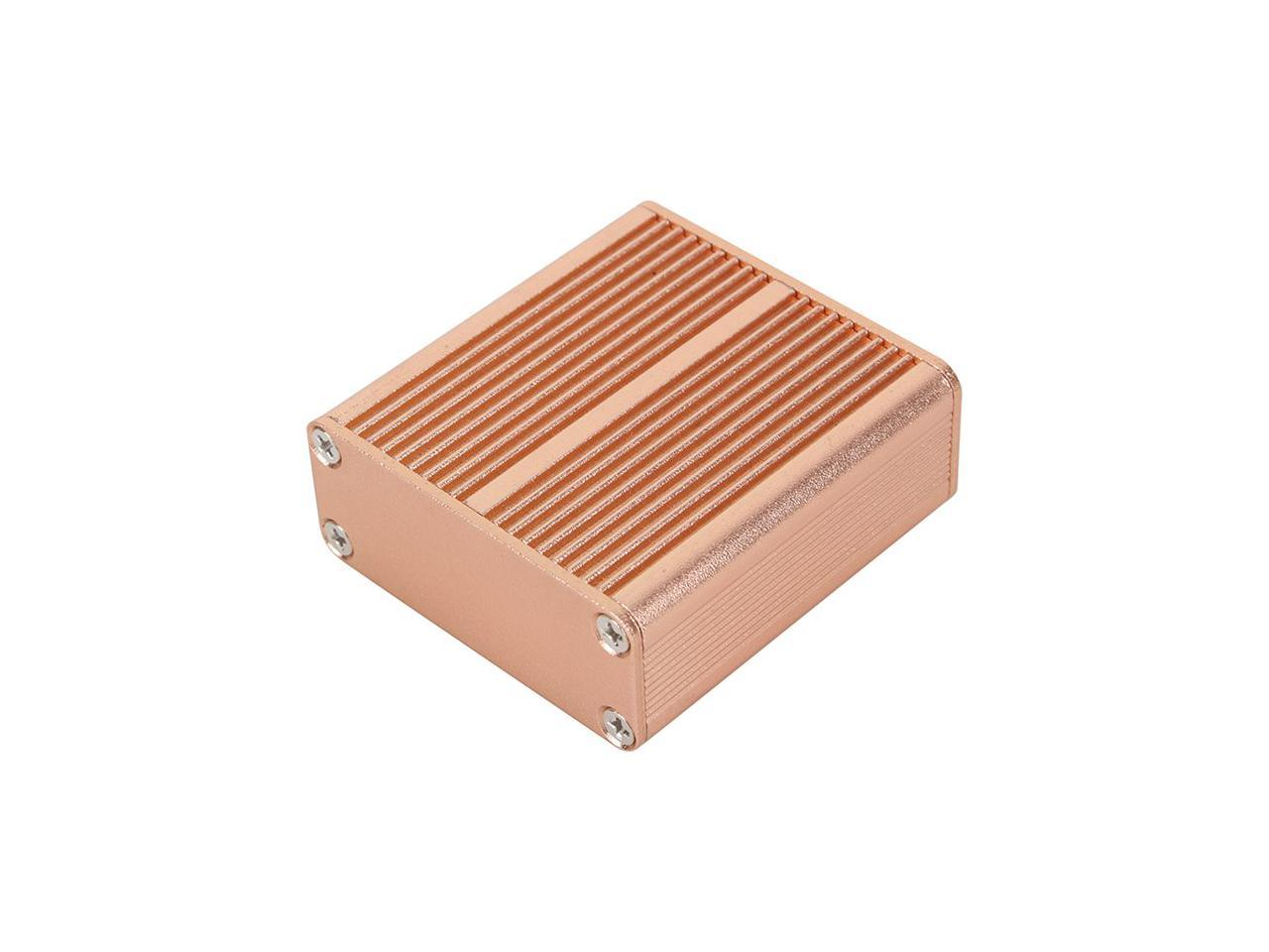 DIY PCB Instrument Aluminum Box 50*58*24mm Enclosure Case Project electronicZJP