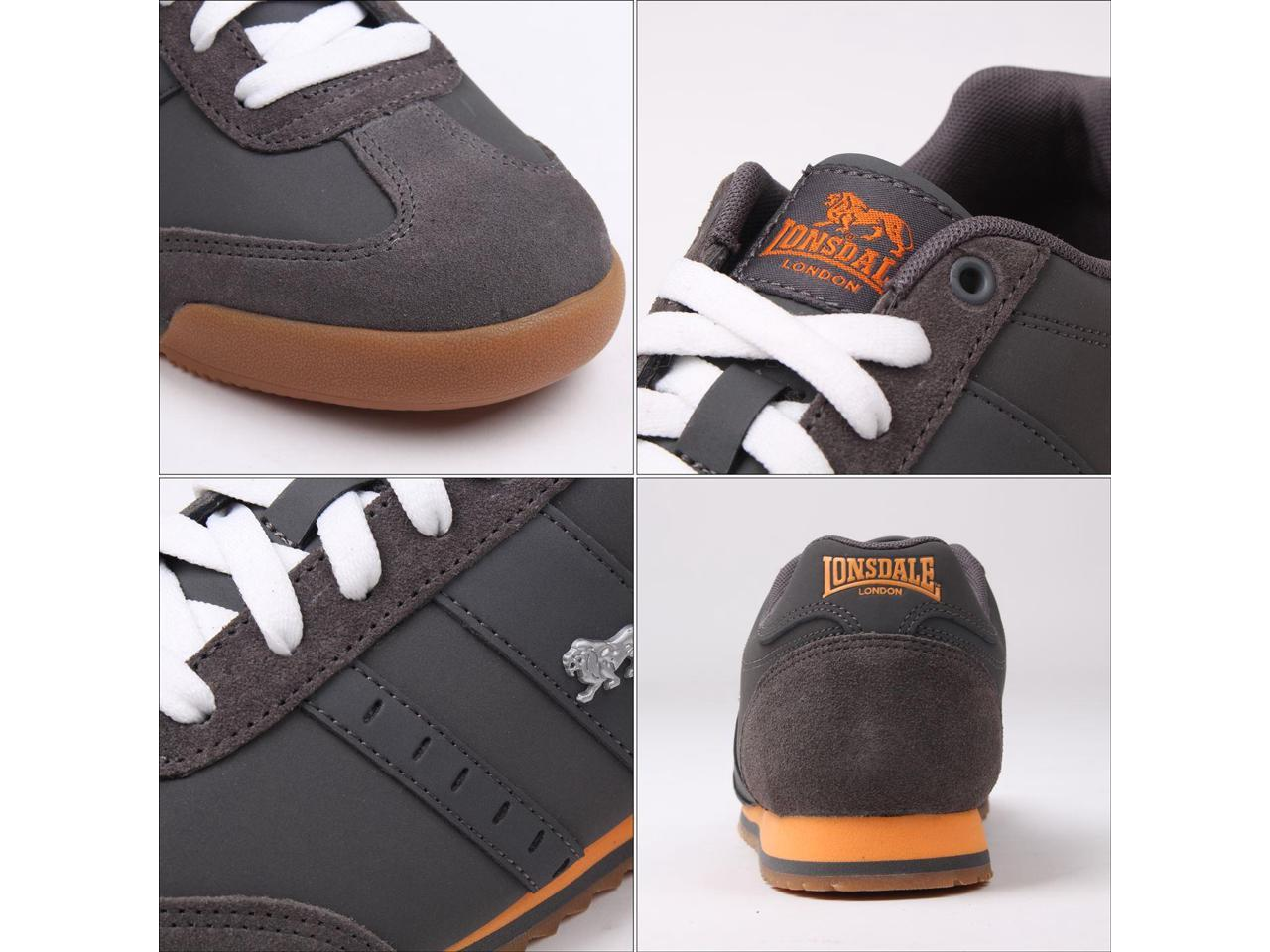 Lonsdale Mens Lambo Trainers Low Top