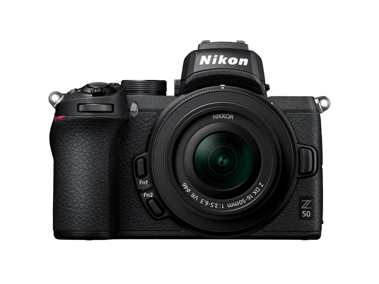 Nikon Z 50 DX-format Mirrorless Camera Body w/ NIKKOR Z DX