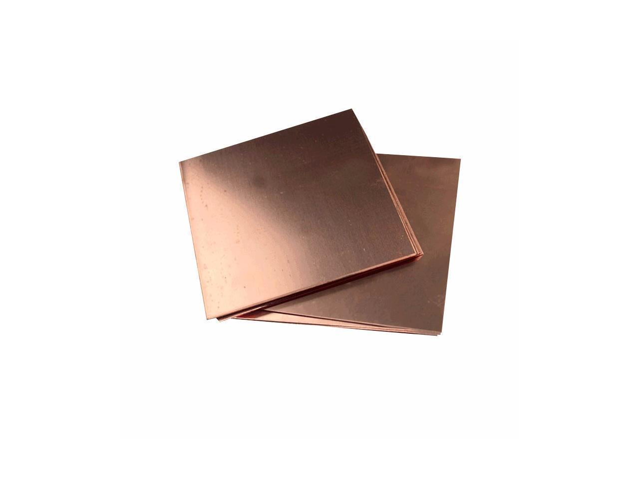 Slim Copper Shim Thermal Cooling Copper Radiator Heatsink for PC RAM CPU