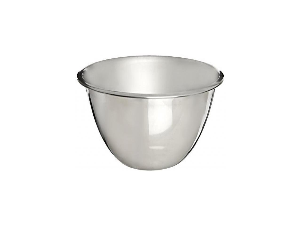 CRESTWARE MBR05 Mixing Bowl,Stainless Steel,5 qt.