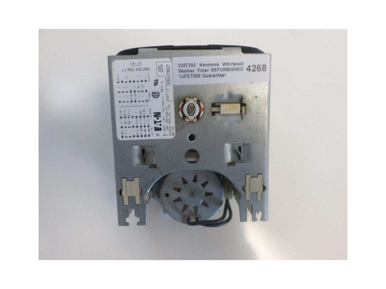 1161 KENMORE Washer Timer 3357392 AP3096162 PS341617 AH341617 EA341617