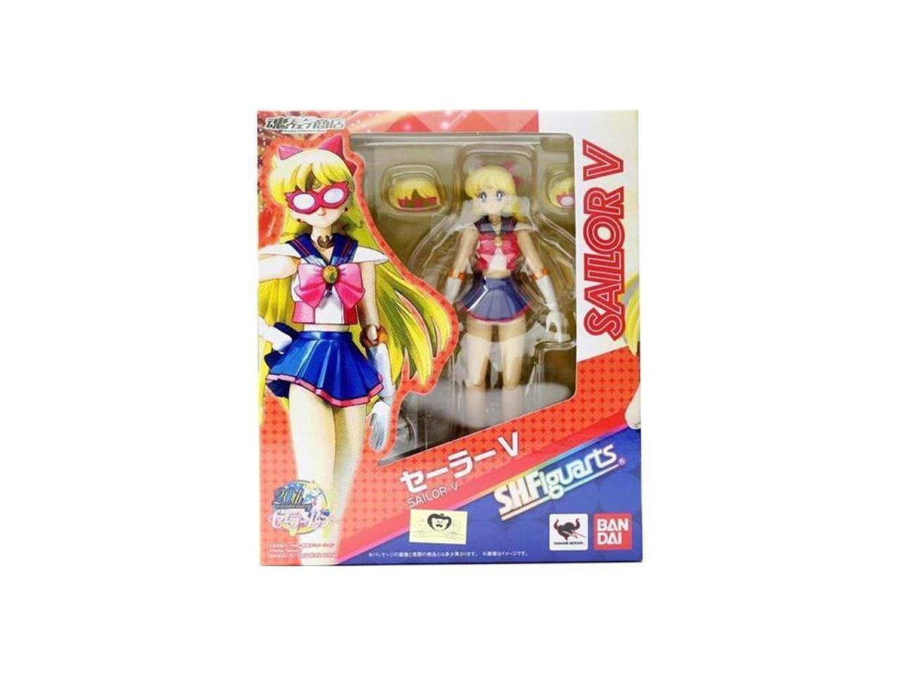 Bandai Tamashii Nations Sailor Moon V Anime Action Figure Set SH Figuarts Japan