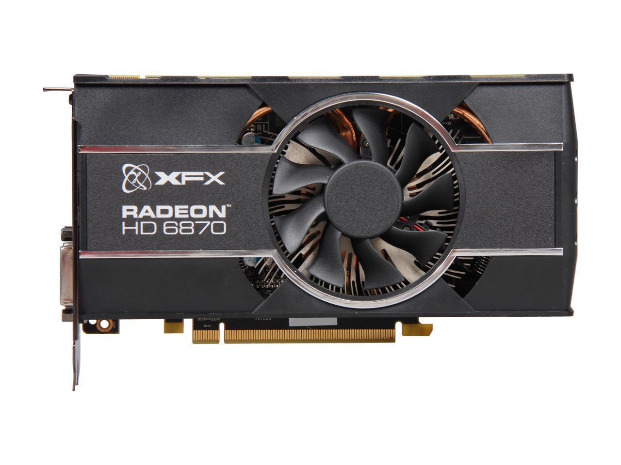 Refurbished: XFX Radeon HD 6870 DirectX 11 HD-687A-ZHFC ...