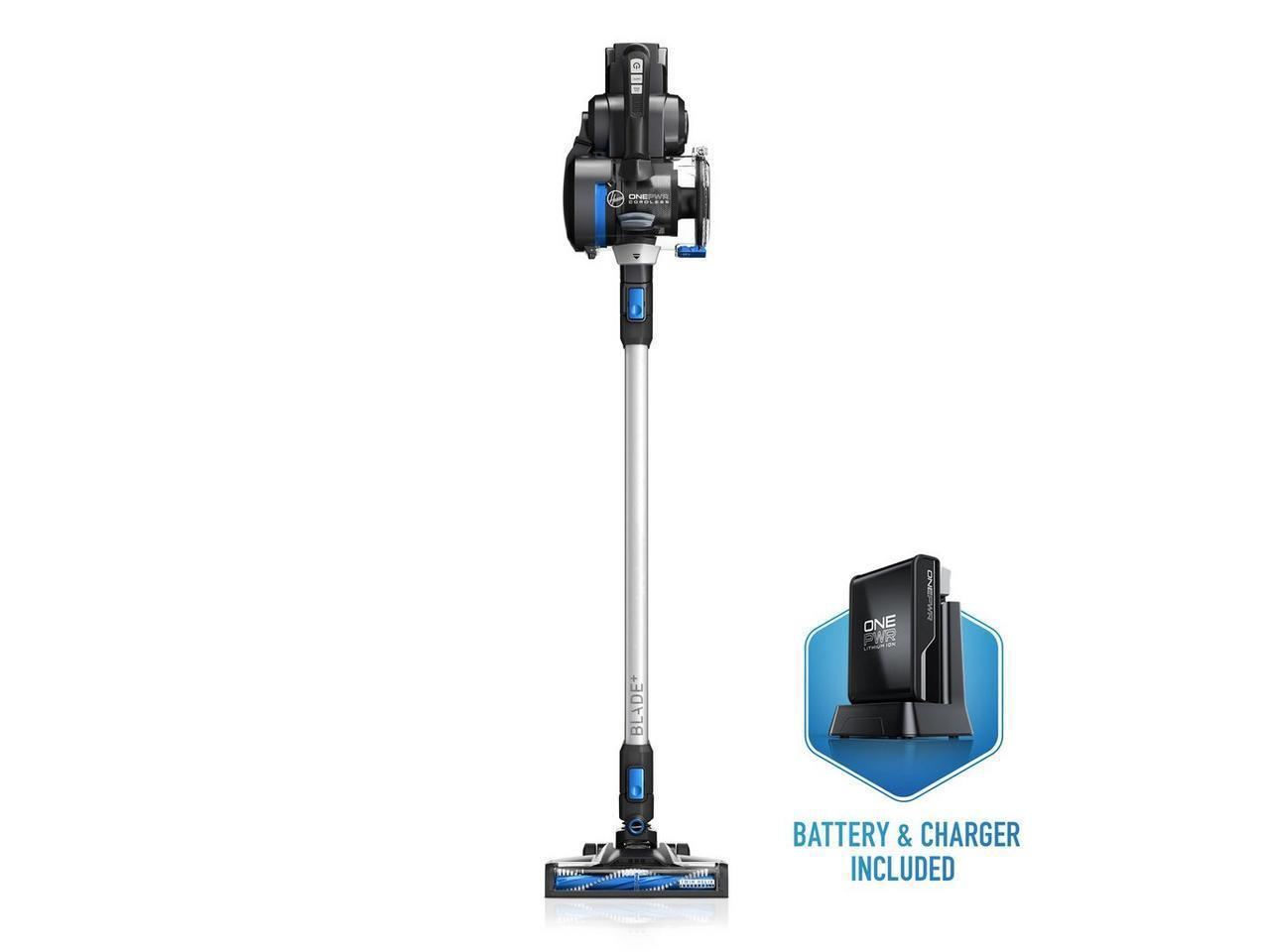 Hoover ONEPWR Blade+ Cordless Stick Vacuum Cleaner - Free ONEPWR Cordless Hard Surface Sweeper w/ Purchase