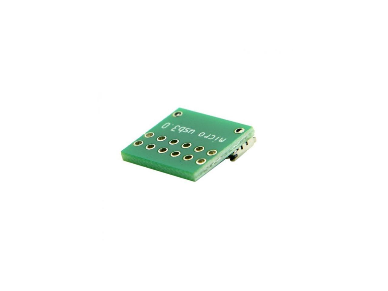 Xiwai  10pcs Micro USB 3.0 10pin Female Socket Receptacle Board Mount SMT Type