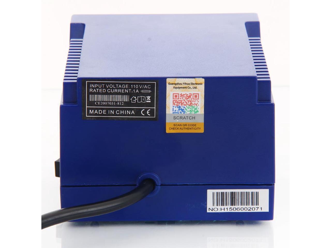 YiHUA-939D 60W 110V SMD Rework Solder Soldering Station Desoldering High Quality