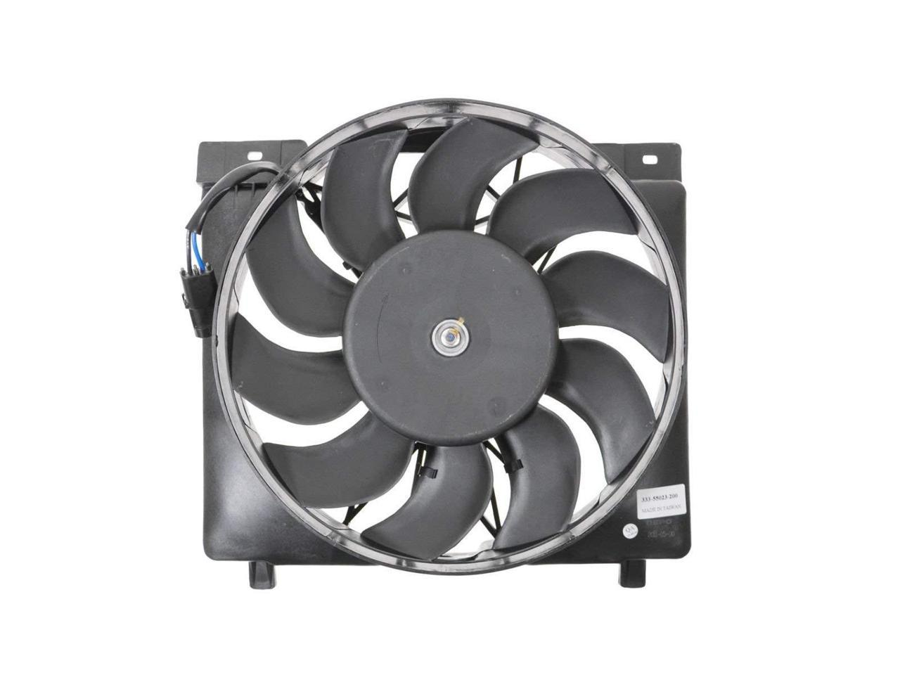 Radiator And Condenser Fan For Ford F-150 Lincoln Navigator FO3115184