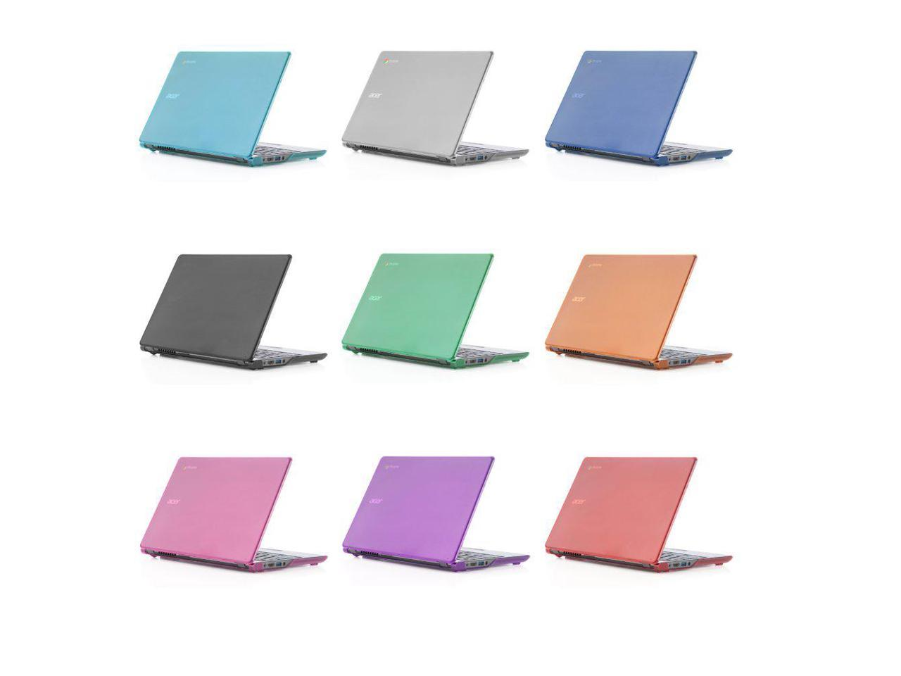 NOT Compatible with Newer 11.6 Acer Chromebook 11 C730 // CB3-111 // CB3-131 Series Laptop Black iPearl mCover Hard Shell Case for 11.6 Acer C720 C720P C740 Series ChromeBook Laptop