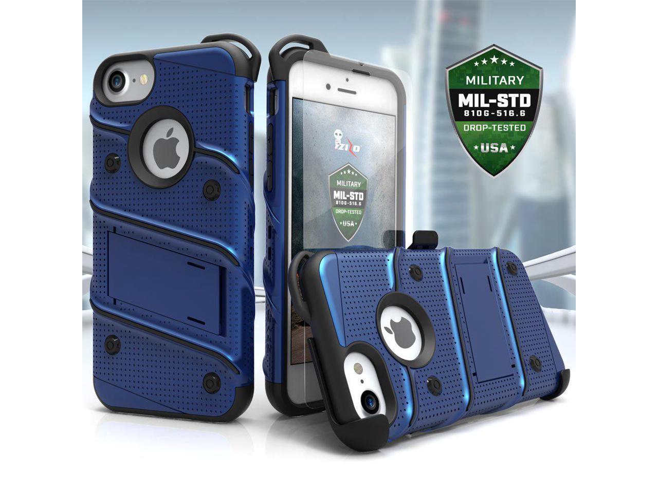 Zizo Bolt Series Compatible with iPhone 8 Case Military ...