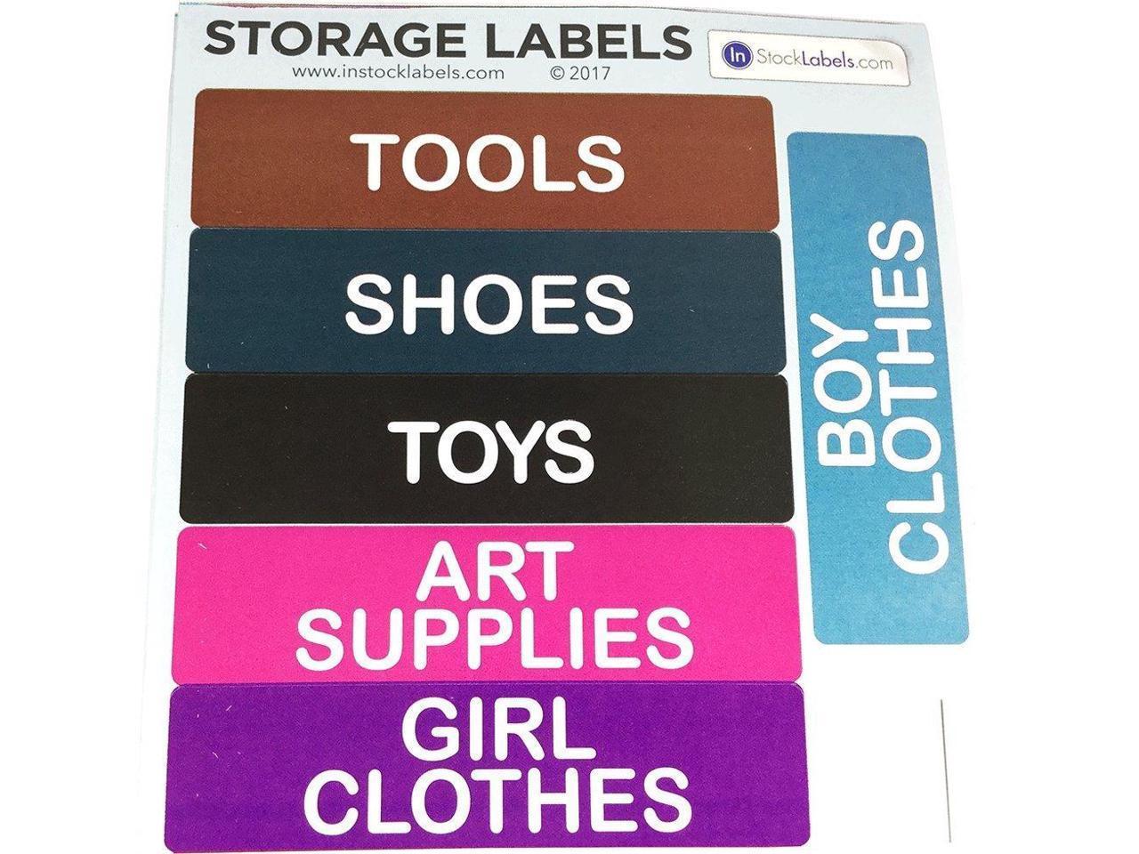 Storage Labels for Moving Supplies Color Coding Home Storage Stickers for Box Storage and Organizing Packing List Tape Labels for Storage Organizer Box