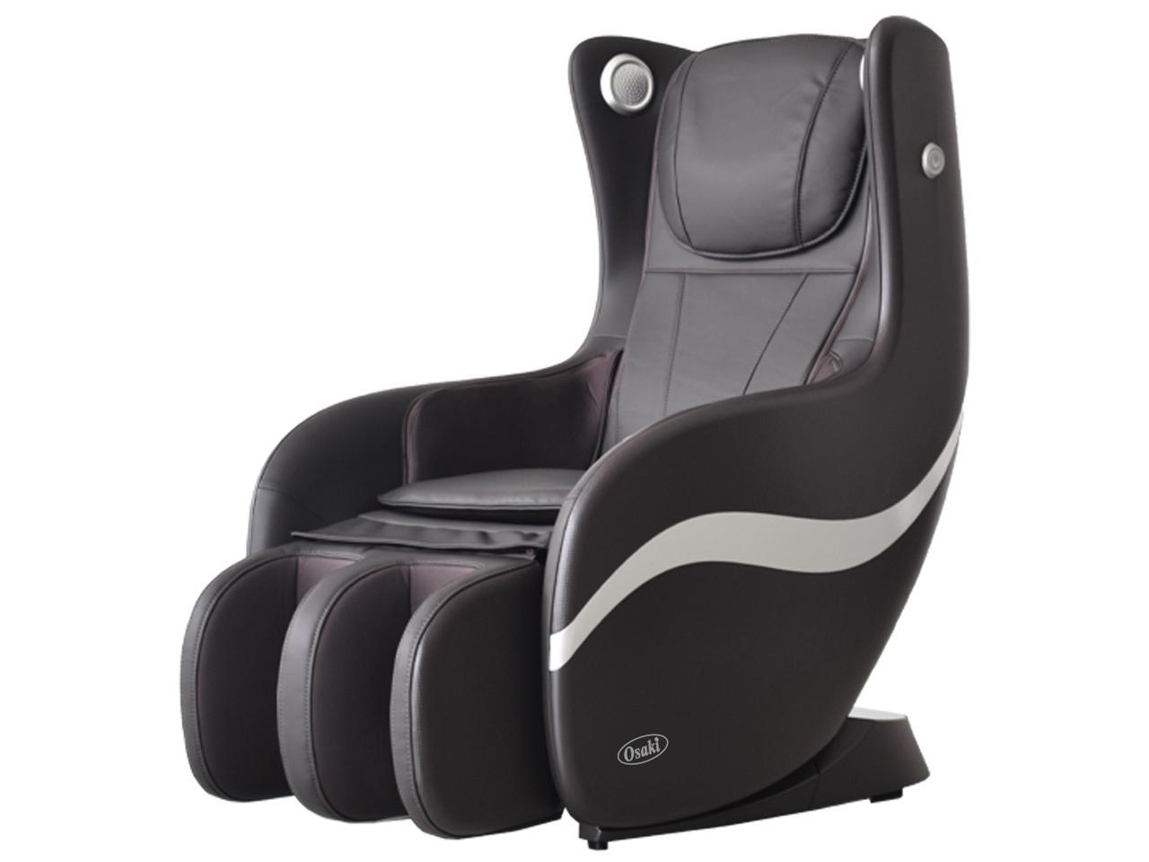 Osaki OS-Bello L-Track Massage Chair with 2 Stage Zero-Gravity Recline, Airbag Compression Massage, Mid-Size