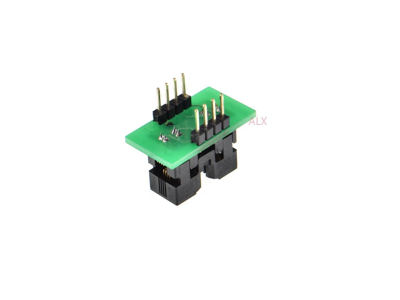 MSOP8 to DIP8 Socket Programming Adapter//Converter for MCU IC Test