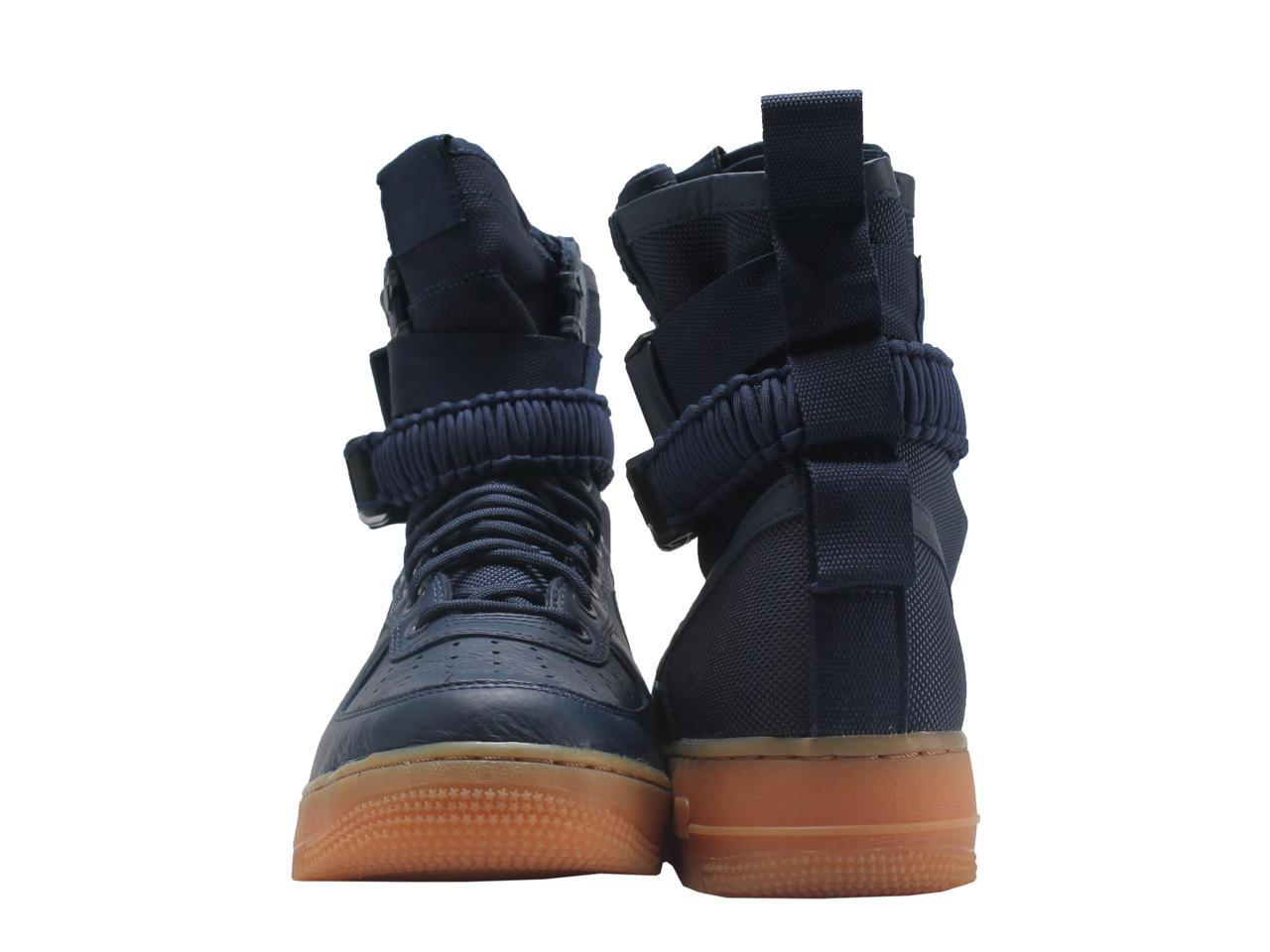 nike sf af1 air force force air 1, forces spéciales navy & # 47; gum hommes & # 39; s chaussures 864024-400 taille 10,5 70d284