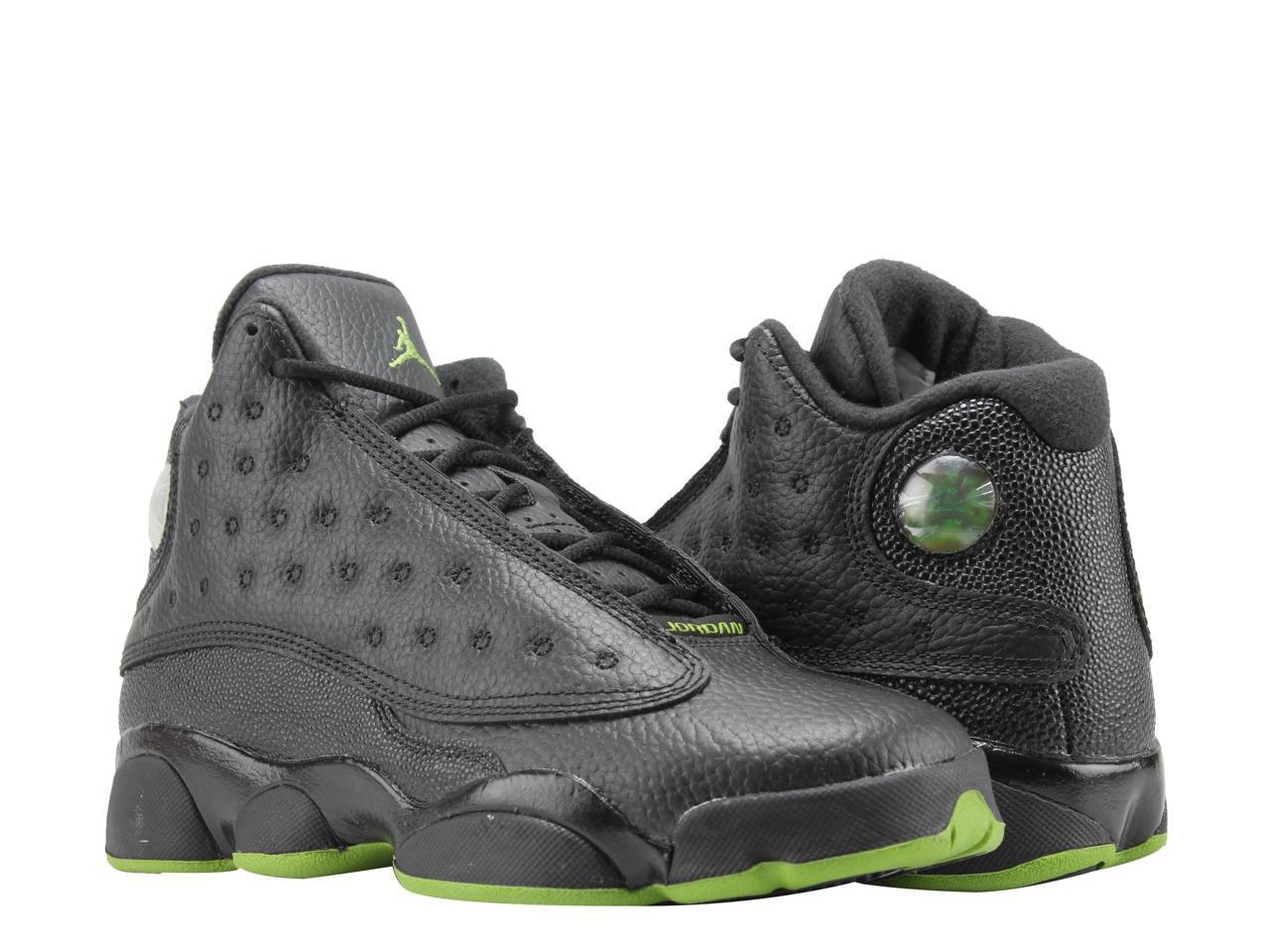 hot sale online c6c0f 8a872 ... low price nike basketball air jordan 13 retro bg black altitude big  kids basketball nike shoes