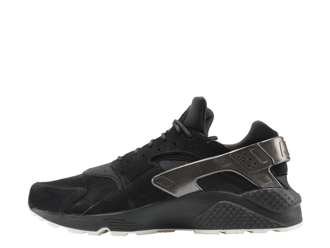 nike air huarache courir pmr pmr courir Noir  & # 47; voile noire hommes & # 39; s des chaussures de course 704830-014 taille 10,5 8ef8b5