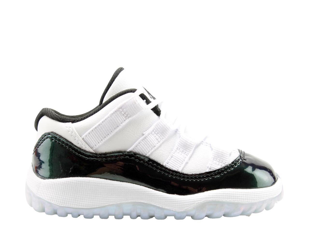 Nike Air Jordan 11 Retro Retro Retro Low BT Emerald Toddler Basketball Shoes 505836-145 Size 10 6928fa