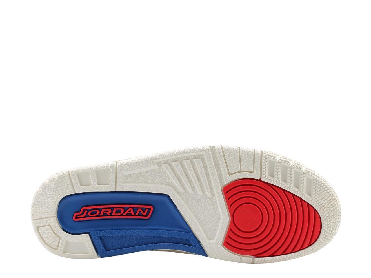 nike air jordan 3 3 jordan rétro international sail hommes & # 39; s de basket - ball 136064-116 taille 11 bc487e