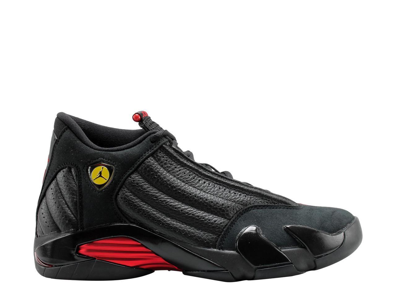 nike air jordanie 14 rétro noir & # 47; 47; # Rouge  Noir  men & # 39; s de basket - ball 487471-003 taille 9,5 c5a30b