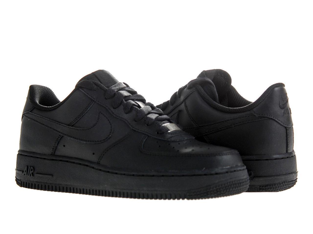 Nike Air Force 1 (GS) Black/Black-Black