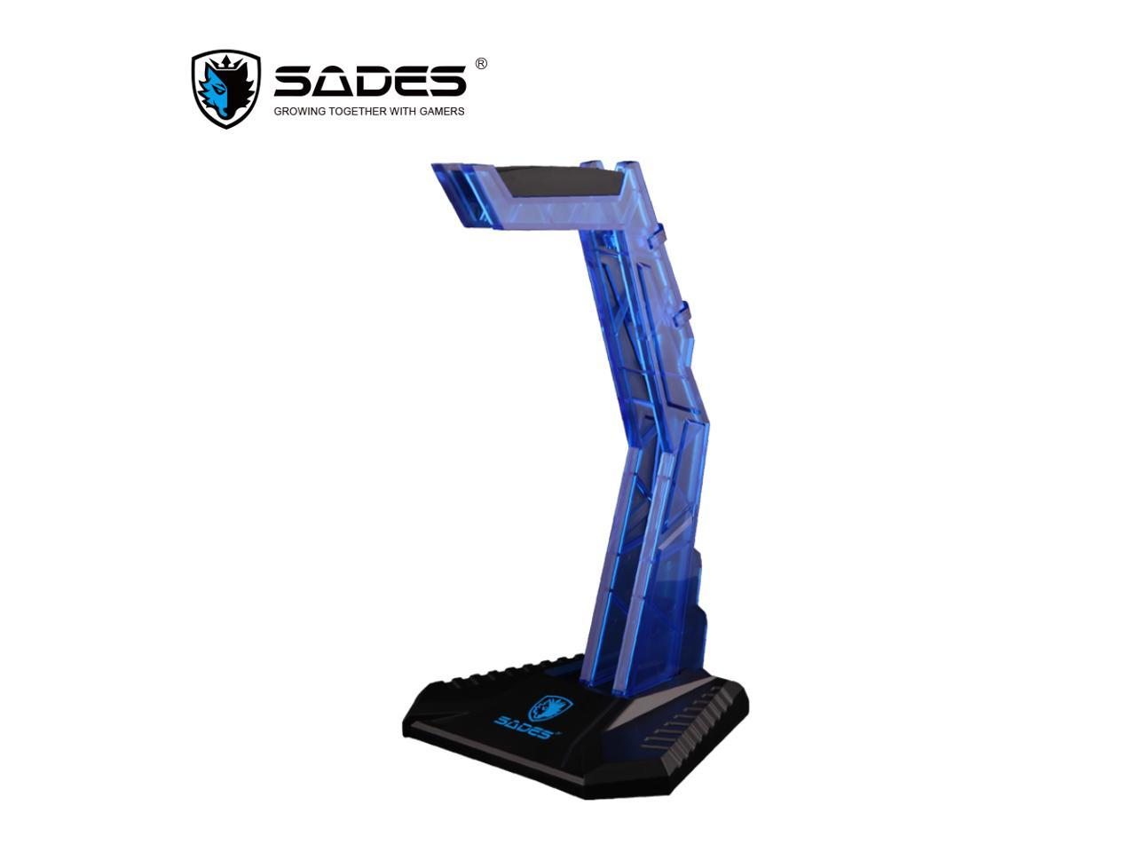 SADES Acrylic Headphone stand Headset Holder Pro gaming Protector