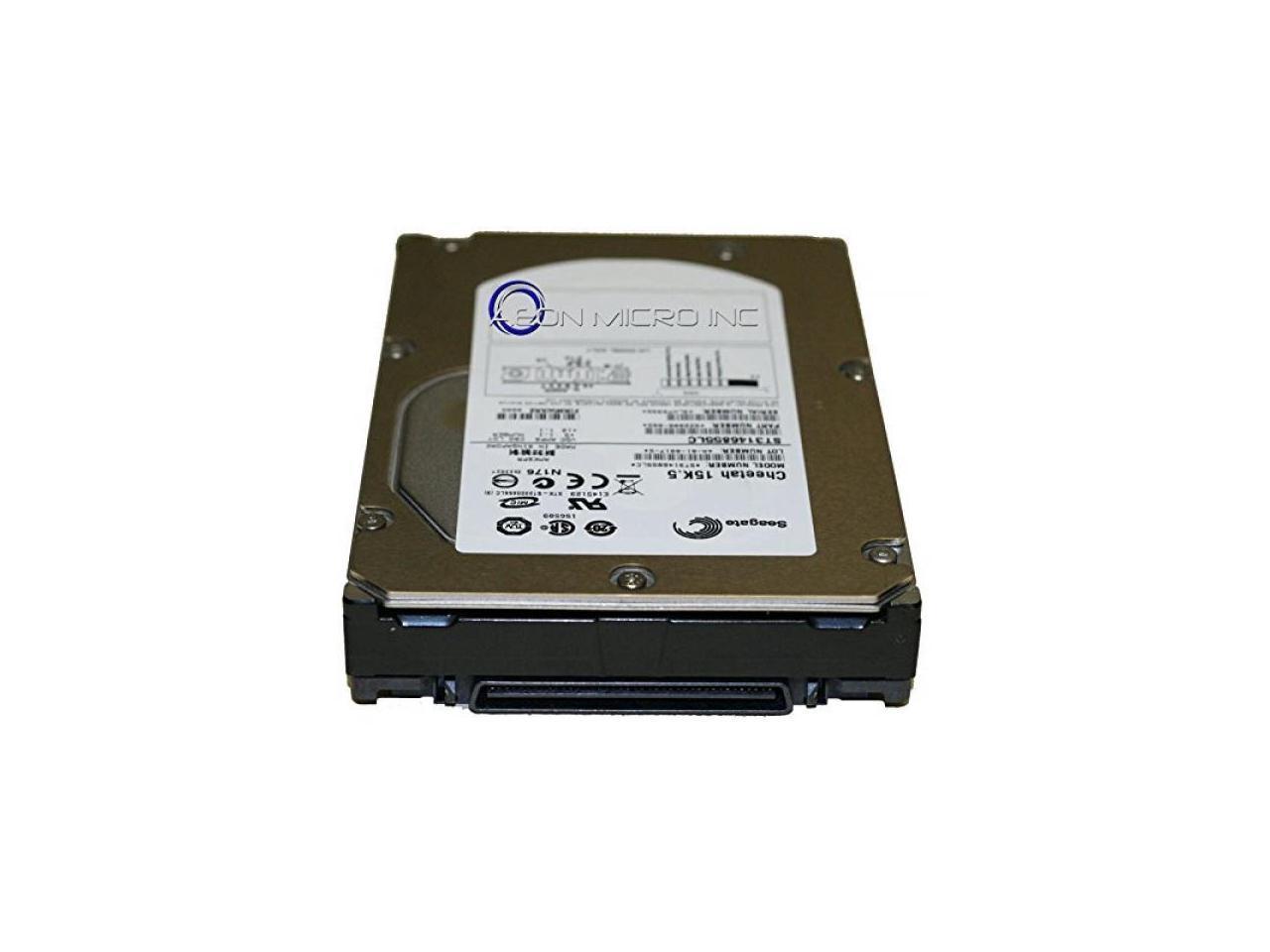 Renewed New Seagate ST3146855LC 146GB SCSI U320 15K Rpm Rotational Speed 80pin 16MB Hard Drive