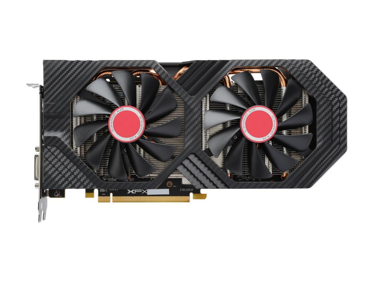 XFX Radeon RX 580 DirectX 12 RX-580P8DFD6 XXX Edition 8GB ...