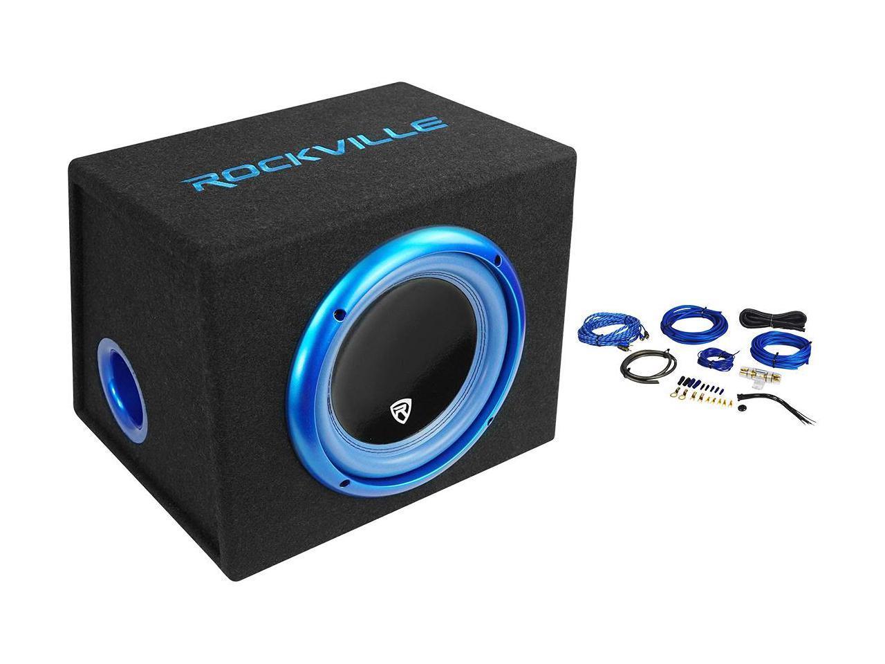 Skar Audio EVL-1X65D4-V-LP 6.5 400 Watt Low Profile Slot Port Loaded Car Subwoofer Enclosure