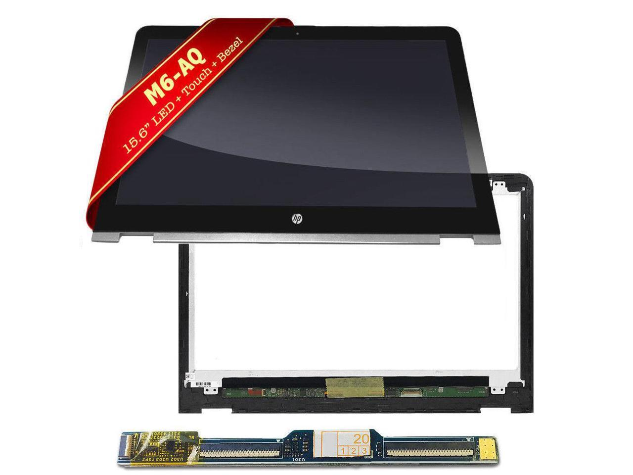 15.6 FHD LCD Screen Touch Digitizer Bezel Assembly 856811-001 for HP Envy x360 M6-AQ M6-aq105dx 15-AQ173CL M6-AQ103DX M6-AQ173CL 15-AQ155NR NOT for UHD 4K
