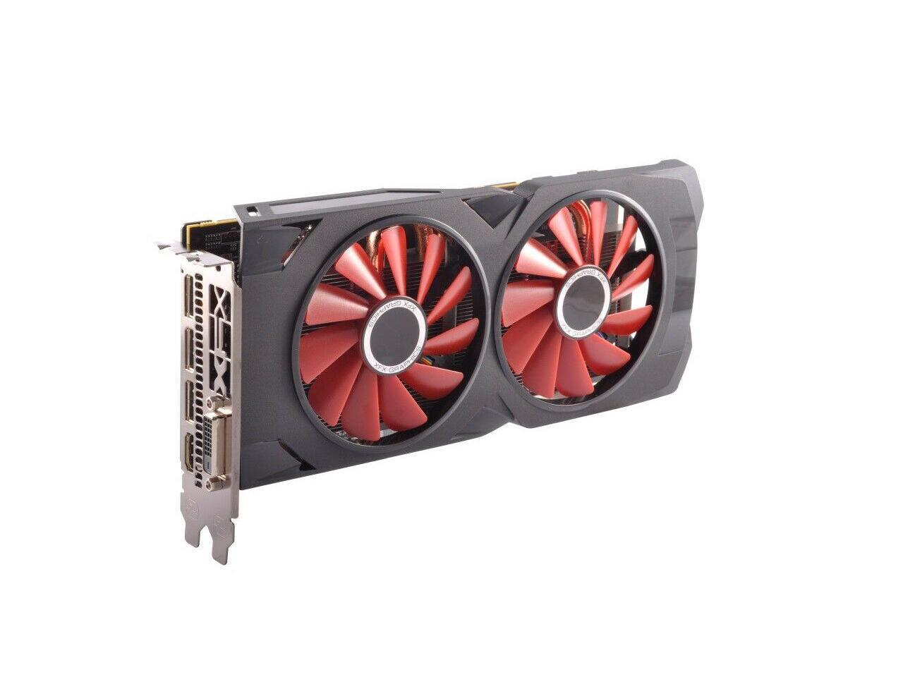 XFX Radeon RX 570 Black Edition DirectX 12 RX-570P8DBD6 ...