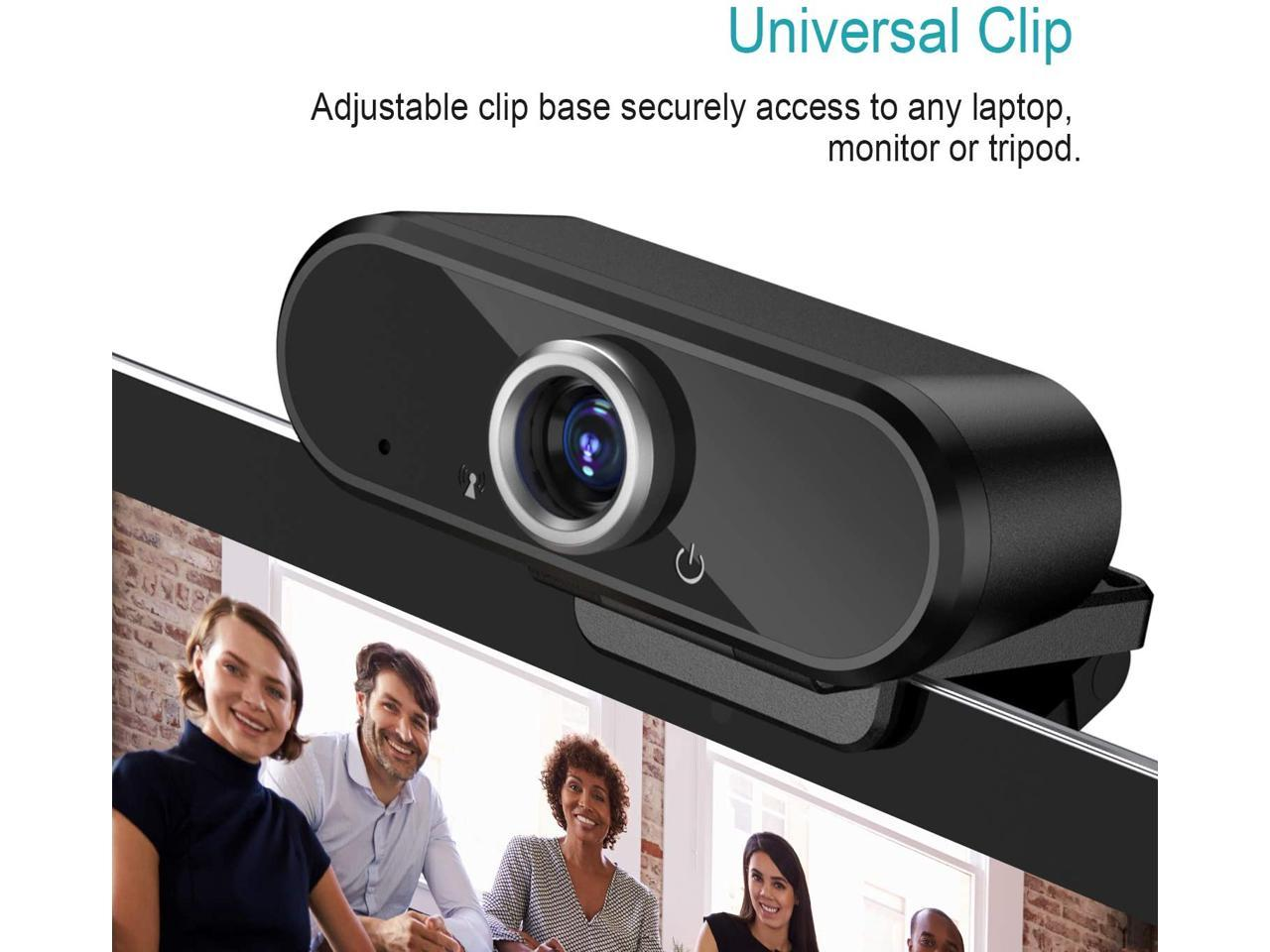 Recording FHD Live Streaming Camera 90/° Wide Angle Lens /& Rotatable Base for Video Calling ieGeek 1080P Webcam with Microphone Conferencing USB Webcam w//Mic for Computer PC Desktop Laptop